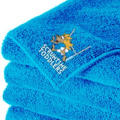 Scrum Time Toddlers Towel